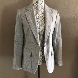 GAP gray wool blazer NWT 12